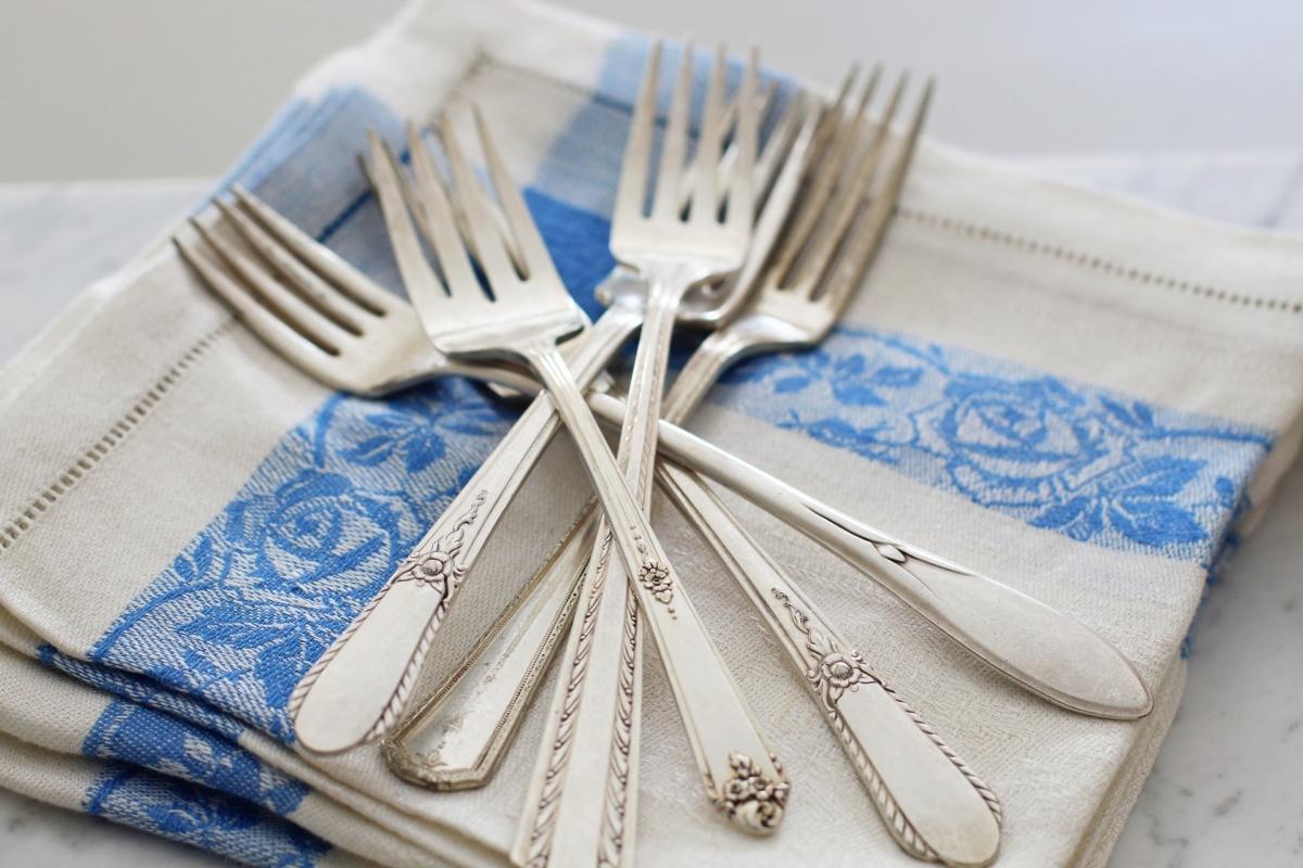 fourchettes en argent anciennes